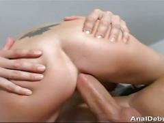 Blonde maria has her anal debut