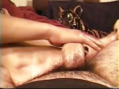 Alicia 1st time footjob pt2