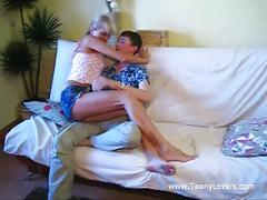 Russian teens in homemade video