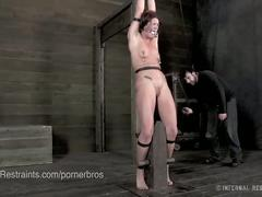 brunette, fetish, hd, black hair, bondage, exploited, painful, sadistic, spanking, torture, whip