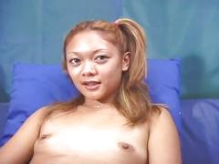 Barely legal asian casting fucking