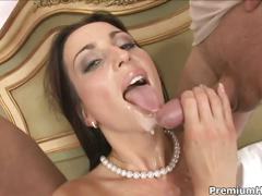 Perverse maid simone style gets double-fucked