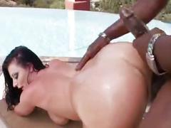 Lexington steele   sophie dee at the pool - xhamster.com