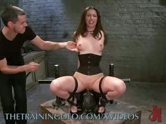 Training casey calvert to get fucked hard