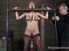 Hot babe - hot punishment