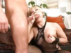 Blondy loves anal in every position