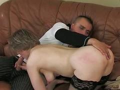 Anal with russian mature 17