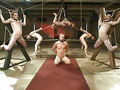 Everybody's tied up and ready to get fucked