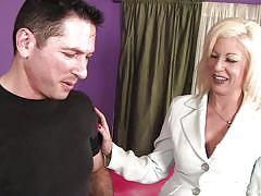 milf, blonde, mature, rimjob, blowjob, cougar, couch, your mom tossed my salad, sindi star, john strong
