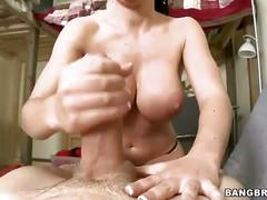 Rebeca linares sucks a mean dick
