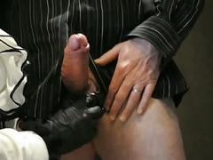Lady sophia's handjob instructions with jay