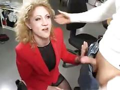 Anal office milf
