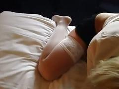 Blond hipster girl fucked and sprayed in the face