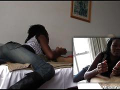 Hooking up with hot african girl!