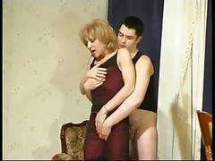 Blonde russian mom longperv