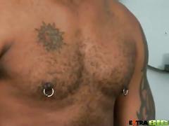 Ty lattimore strokes enormous black cock