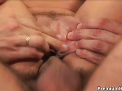 Darryl hanah's backdoor and facial