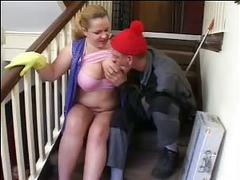 Sexy mom n110blonde german mature nice tits with a young man