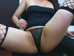 Nice colombian pussy on webcam