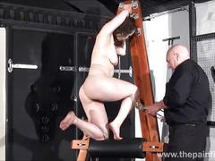amateur, submissive, bdsm, bondage, and, pain, whipping, private, slavegirl, spanked, dungeon, strict, beauvoirs, hellpain