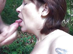 handjob, mature, outdoor, blowjob, short hair, tatoo, brunette, mature deepthroat, nature, chubby mature, outdoors, licking cock, hard dick, on knees, diewertje, mature nl, mature money