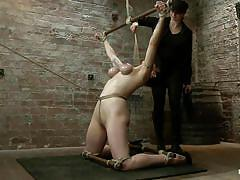 Punishment for the knelt slut