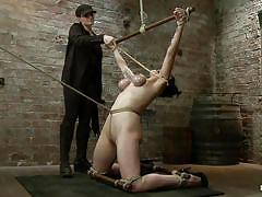 Punishment for the knelt slut