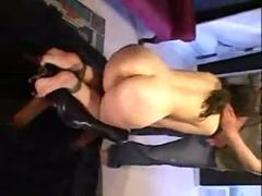 Bondage ass abuse