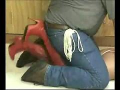 Superheroine bound and gagged 1