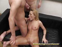 amateur, bukkake, gangbang, german, group sex