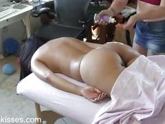 sexy, ass, threesome, booty, domination, erotic, massage, lotion, hands, buns, cd2, 2014