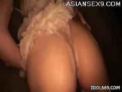 Koyuki hara hot asian slut enjoys a shower and masturbating with toys