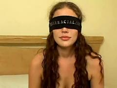 Ashley gracie interracial blindfold