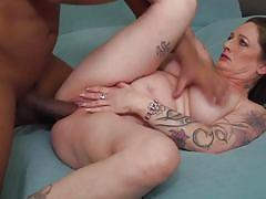 Big black cock for a mature dame