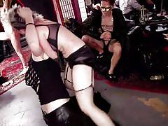 Role-play and kinky bdsm on the upper floor
