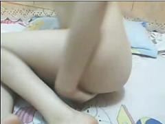 Teen chinese in webcam show