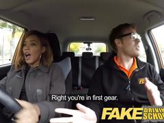 Fake driving school teen learners black students creampies