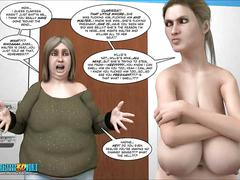 3d comic: the chaperone. episodes 105-106