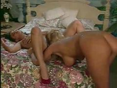 Latina with blond girl and a guy