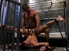 Bound max gets tortured and fucked hard
