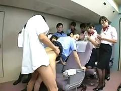 Flight stewardess special service