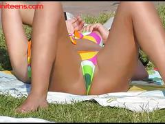 Hot bikini teens video