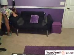 Very cute young amateur teen blonde babe teasing on webcam