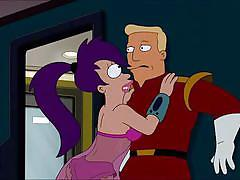 Leela is horny and ready for a hard one