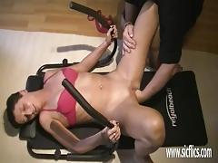 Horny wife fisted