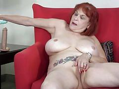 Redhead mature lady angie wants to have some fun