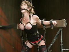 bondage, whipping, big boobs, vibrator, moaning, tied up, bondage device, felony, mz berlin, bella rossi, device bondage, kinky dollars