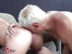 milf, ass licking, dildo, tatoo, vibrator, screaming, pussy licking, brunette, huge boobs, from behind, couch sex, spread legs, shaved pussy, jenna presley, immoral live, myxxxpass, blazing bucks