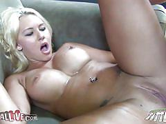 milf, blonde, big tits, cumshot, bubble butt, fingering, couch, anal sex, hard cock, squeezing tits, rubbing pussy, cum on ass, katie summers, immoral live, myxxxpass, blazing bucks