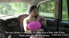 Fake taxi fucking amateur get her pussy slammed